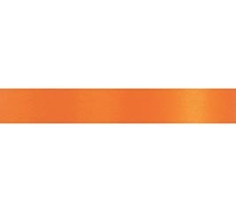 #3 ORANGE SATIN ACETATE RIBBON