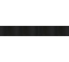 #3 BLACK SATIN ACETATE RIBBON