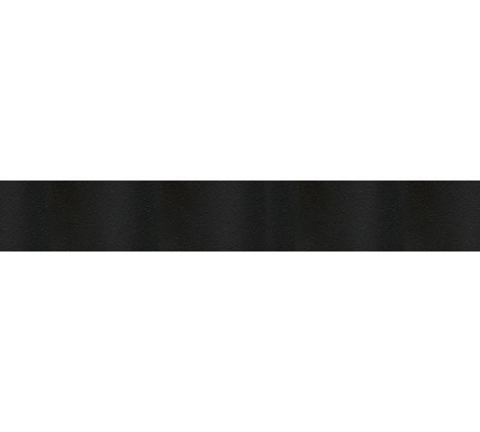 #3 BLACK SATIN ACETATE RIBBON